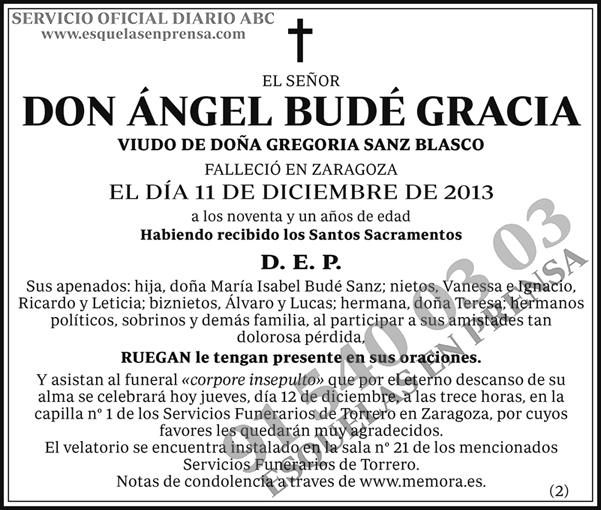 Ángel Budé Gracia